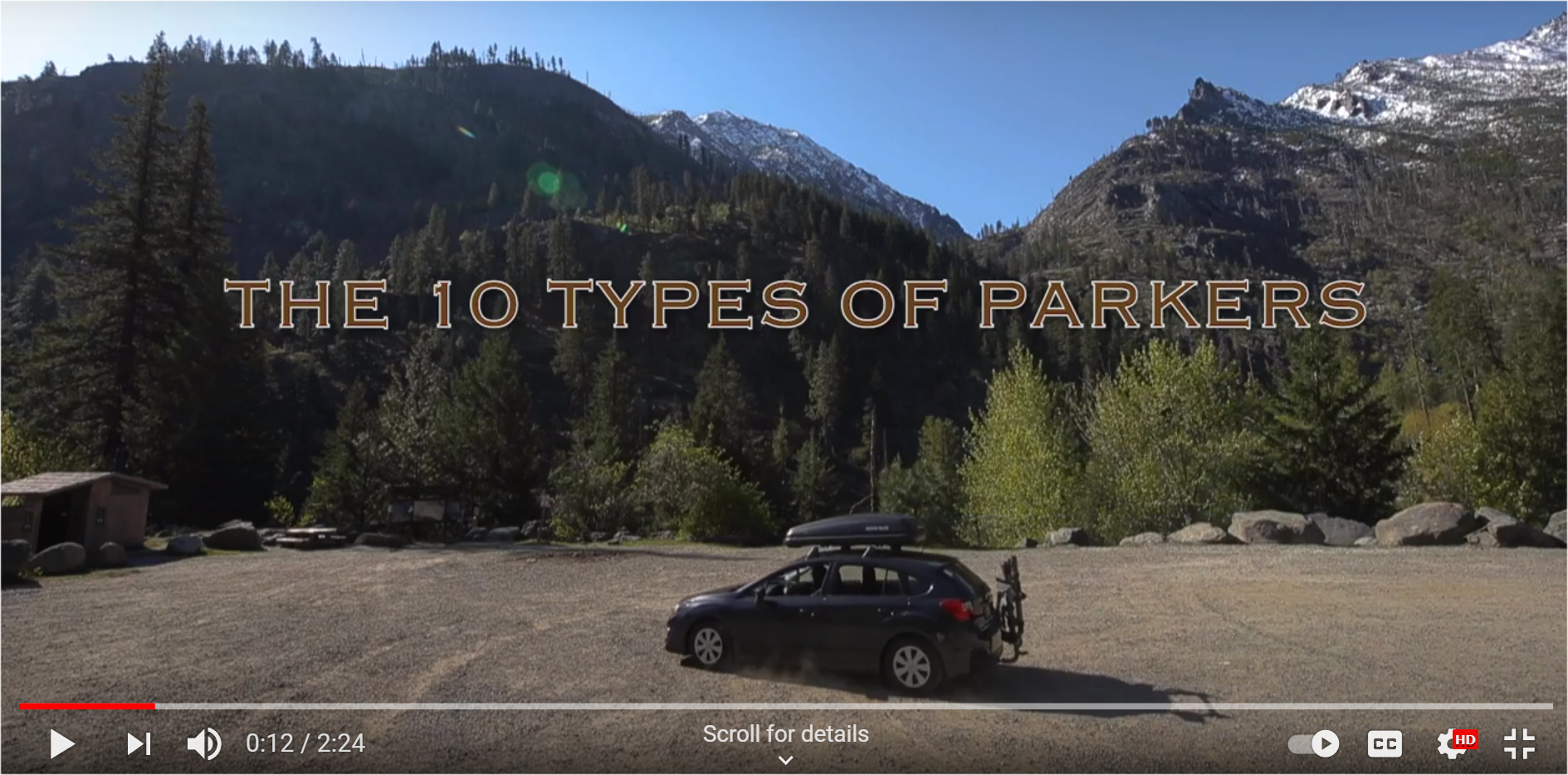 10 Types of Parkers: A TREAD Map PSA from Cascade Loop